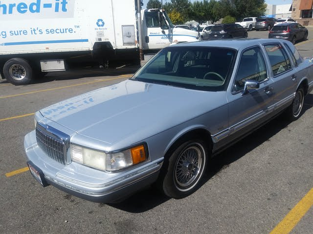 Picture of 1993 Lincoln Town Car Cartier