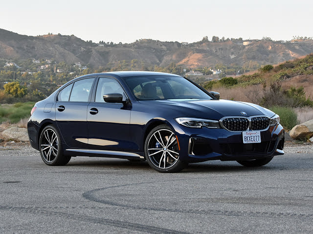 2020 BMW M340i in Tanzanite Blue