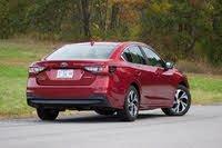 Rear 3/4 profile of the 2020 Subaru Legacy., gallery_worthy