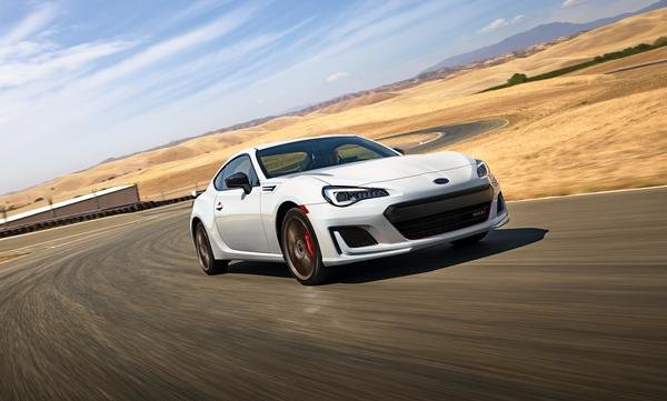 2020 Subaru BRZ front-quarter view, gallery_worthy