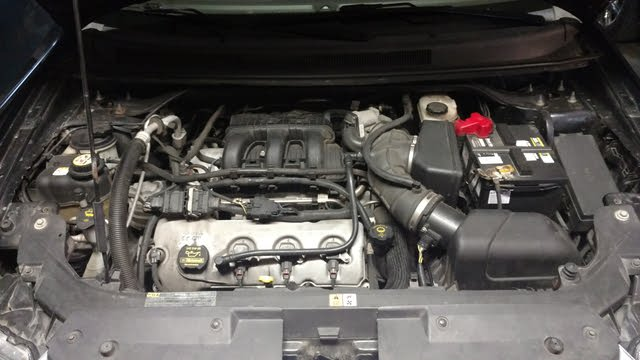 Picture of 2008 Ford Taurus X Eddie Bauer, engine, gallery_worthy