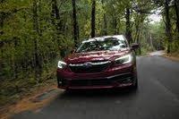 2020 Subaru Legacy driving shot, exterior, gallery_worthy