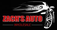 Zach's Auto Wholesale logo