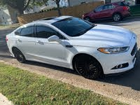 Picture of 2014 Ford Fusion Hybrid Titanium FWD, exterior, gallery_worthy
