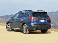 2020 Subaru Ascent Touring 7-Passenger AWD, 2020 Subaru Ascent Touring Blue Rear Quarter, exterior, gallery_worthy