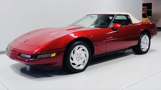 Picture of 1995 Chevrolet Corvette Convertible RWD, gallery_worthy