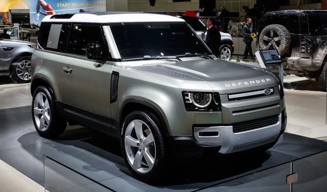 The 2020 Land Rover Defender at the LA Auto Show