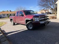 Picture of 2009 Chevrolet Silverado 1500 LS Extended Cab 4WD, exterior, gallery_worthy