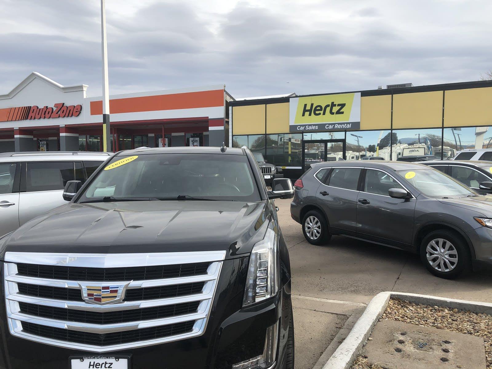 Hertz car sales denver