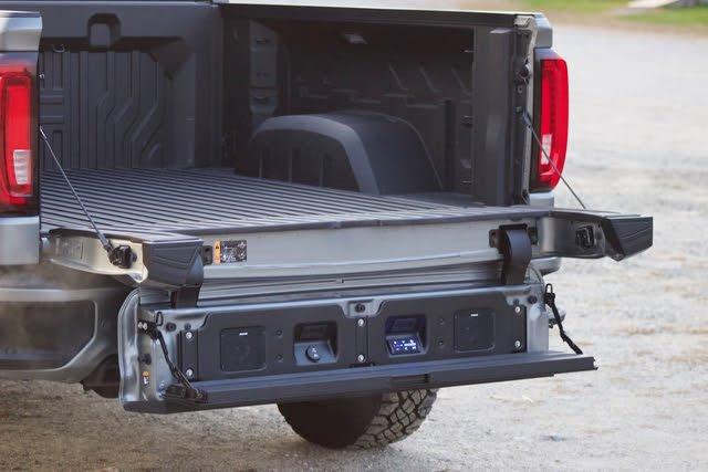 Mutli-Pro tailgate of the 2020 GMC Sierra 1500., gallery_worthy