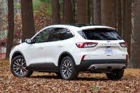 Rear 3/4 profile of the 2020 Ford Escape., gallery_worthy