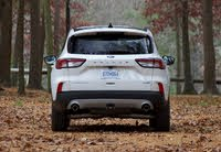 Rear profile of the 2020 Ford Escape., exterior, gallery_worthy