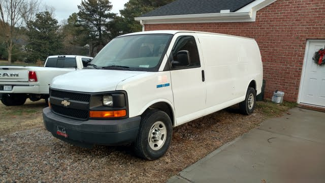 Picture of 2008 Chevrolet Express Cargo 2500 Extended RWD