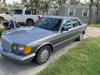 1987 Mercedes-Benz 560-Class Overview