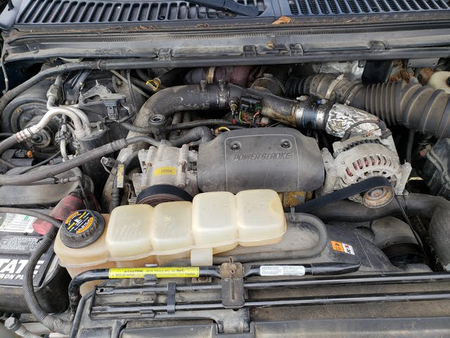 Picture of 2001 Ford F-350 Super Duty Lariat Crew Cab LB DRW 4WD, engine, gallery_worthy