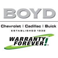 Boyd Chevrolet Cadillac Buick logo