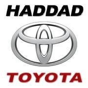 Haddad Toyota logo