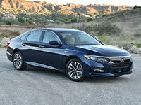 2020 Honda Accord Hybrid Touring Blue Front Quarter Right, exterior, gallery_worthy