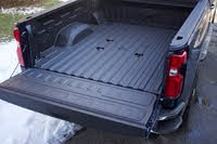 Bed area of the 2020 Chevrolet Silverado 2500HD. Note the five points for the gooseneck trailer hitch installation., exterior, gallery_worthy