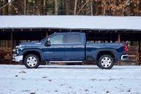 Side profile of the 2020 Chevrolet Silverado 2500HD., exterior, gallery_worthy