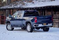 Rear 3/4 profile of the 2020 Chevrolet Silverado 2500HD., exterior, gallery_worthy