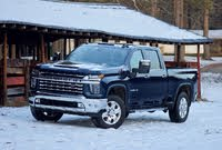 Front 3/4 profile of the 2020 Chevrolet Silverado 2500HD., exterior, gallery_worthy