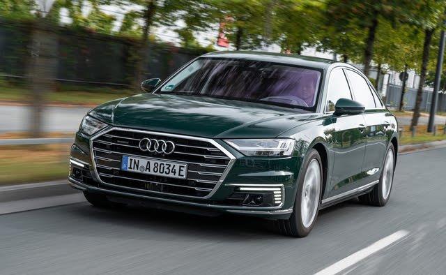 2020 Audi A8 TSFI, Euro spec.