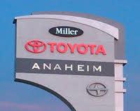 Miller Toyota of Anaheim logo