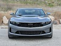2020 Chevrolet Camaro LT1 Satin Steel Gray Front View, exterior, gallery_worthy