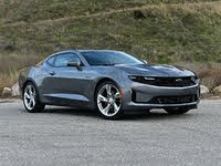 2020 Chevrolet Camaro LT1 Satin Steel Gray Front Quarter View, exterior, gallery_worthy