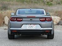 2020 Chevrolet Camaro LT1 Satin Steel Gray Rear View, exterior, gallery_worthy