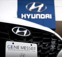 Gene Messer Hyundai logo