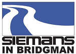 Siemans in Bridgman logo