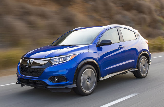 2020 Honda HR-V, Front-quarter view, exterior, manufacturer, gallery_worthy