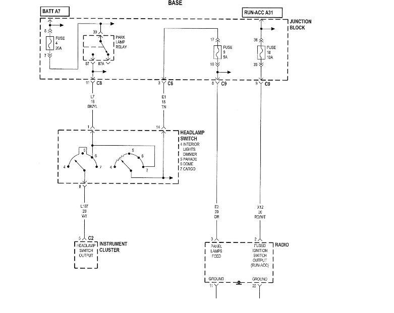 Dodge Dakota Questions - Dakota radio - CarGurus | 2002 Dodge Dakota Stereo Wiring Diagram |  | CarGurus