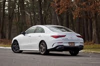 2020 Mercedes-Benz CLA-Class, Rear 3/4 profile of the 2020 Mercedes-Benz CLA., gallery_worthy