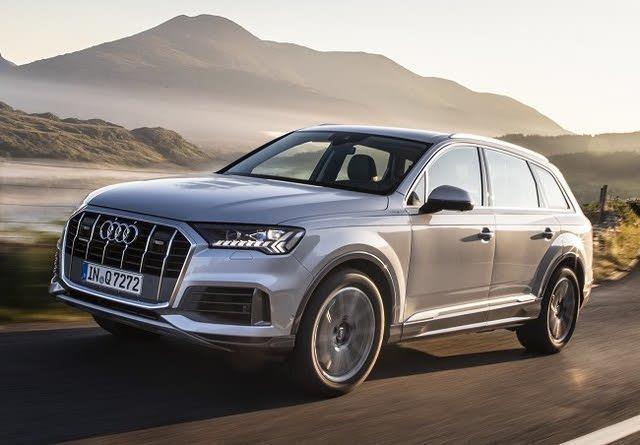 2020 Audi Q7, Front-quarter view, exterior, manufacturer, gallery_worthy