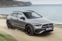 2021 Mercedes-Benz GLA-Class, Front-quarter view. Euro-spec model., exterior, manufacturer, gallery_worthy