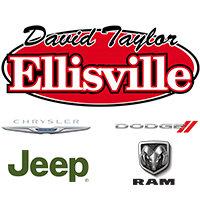 David Taylor Ellisville Chrysler Dodge Jeep RAM logo