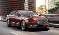 2020 Ford Fusion Hybrid, Front-quarter view, exterior, manufacturer, gallery_worthy