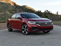 2020 Volkswagen Passat R-Line Aurora Red Front Quarter View, exterior, gallery_worthy