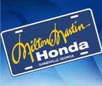 Milton Martin Honda logo