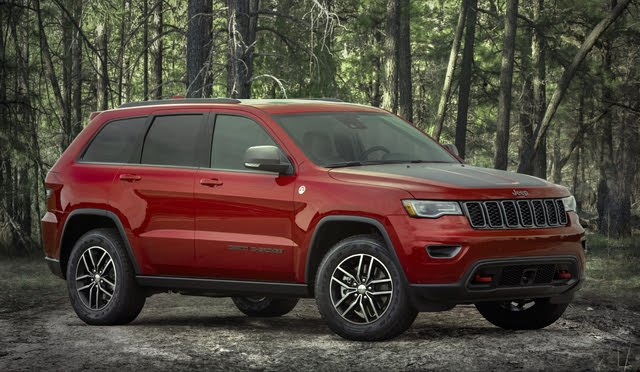 2020 Jeep Grand Cherokee, Front-quarter view, exterior, manufacturer, gallery_worthy