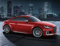 2020 Audi TTS, Front-quarter view, exterior, manufacturer, gallery_worthy