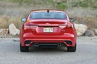 2020 Jaguar XE P300 R-Dynamic S Caldera Red View, exterior, gallery_worthy