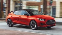 2020 Hyundai Veloster Turbo, Front-quarter view, exterior, manufacturer, gallery_worthy