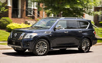 2020 Nissan Armada, Front-quarter view, exterior, manufacturer, gallery_worthy