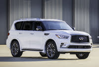 2020 INFINITI QX80, Front-quarter view, exterior, manufacturer, gallery_worthy