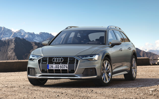 2020 Audi A6 Allroad, Front-quarter view (European version), exterior, manufacturer, gallery_worthy
