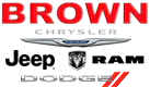 Brown Dodge Chrysler Jeep Ram logo